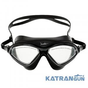 Маска для плавания Marlin Swim; черная