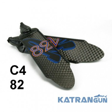 Ласты карбоновые C4 82