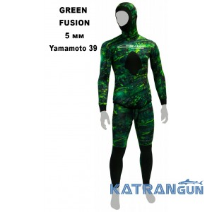 Гидрокостюм для охоты Epsealon Green Fusion 5 мм