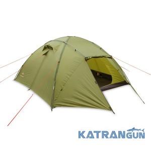 Палатка туристическая 2-х местная Pinguin Tornado 2 Dural