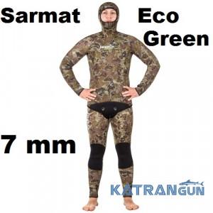 Гідрокостюм Marlin Sarmat Eco Green 7 мм