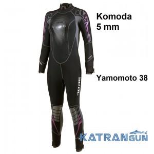 Дайвінговий гідрокостюм жіночий Seac Sub Komoda 5 мм
