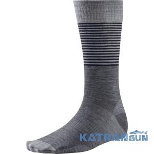 Дитячі зимові шкарпетки для повсякденного носіння SmartWool Boy's Tailored Stripe Crew