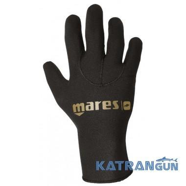 Перчатки для подводной охоты Mares Flex Gold 50 Ultrastretch 5 мм