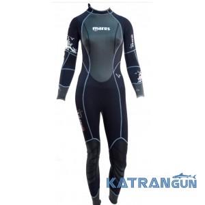 Женские гидрокостюмы для дайвинга Mares Reef 3 мм (старая версия)