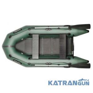 Моторная надувная лодка ПВХ Bark BT-270D, двигающиеся сиденья