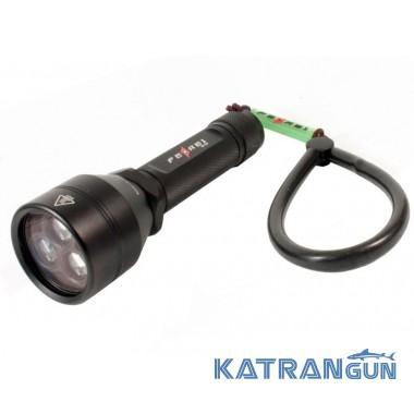 Ліхтарі для підводного полювання Ferei W153 (червоне світло + білий світ)