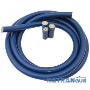 Тяги для подводного ружья в бухтах Prime Line (на метраж), 18 мм, прозрачная в синей оболочке