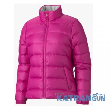 Женский пуховик зимний Marmot Women's Guides Down Sweater, Lipstick