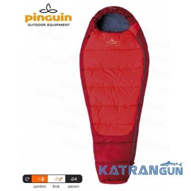 Спальник детский Pinguin Comfort Junior 150 red