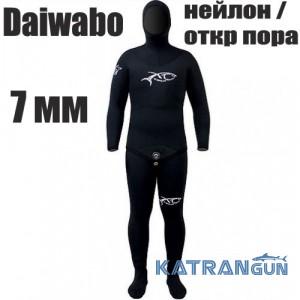 Гидрокостюм подводного охотника XT Diving Pro Daiwabo 7 мм; нейлон / открытая пора