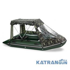 Палатка на лодку пвх Bark, модель BN-390
