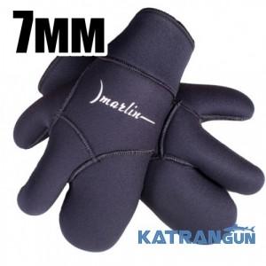 Рукавицы для подводной охоты Marlin Winter 7 мм