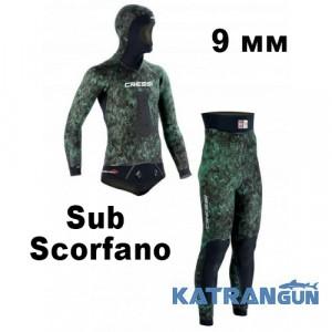 Гидрокостюм для подводной охоты Cressi Sub Scorfano 9 мм (куртка + штаны)