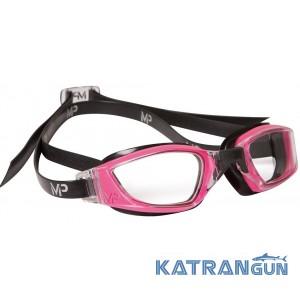 Жіночі окуляри для плавання Michael Phelps Xceed Lady; лінзи прозорі