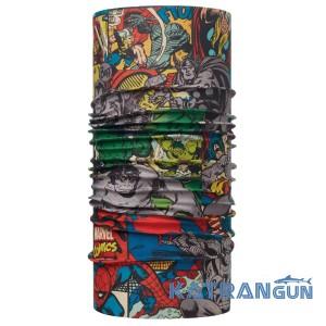 Бафф для взрослых поклонников супергероев BUFF SUPERHEROES ORIGINAL