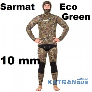 Гидрокостюм Marlin Sarmat Eco Green 10 мм