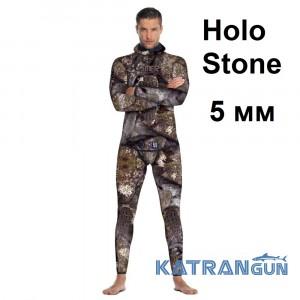Літній гідрокостюм для підводного полювання Omer Holo Stone 5 мм