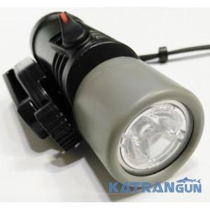 Фонарь для подводной охоты Omer MiniMicra LED (светодиодный); чёрный