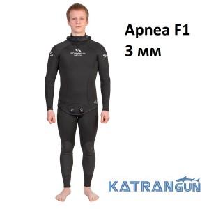 Гидрокостюм для занятий фридайвингом Scorpena Apnea F1; 3 мм
