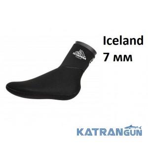 Носки неопреновые сухие Scorpena Iceland 7 мм