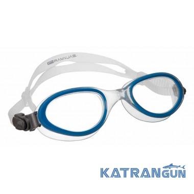 Очки-маска для плавания Salvimar Fluyd Aria, синие