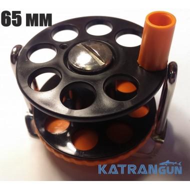 Катушка для подводного ружья Pelengas; комбинированная; с нержавеющим кронштейном