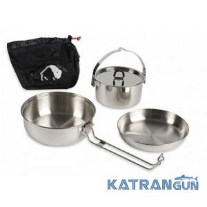 Туристический набор посуды Tatonka Camp Set