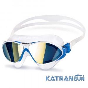 Очки-маска для плавания Head Horizon + зеркальное покрытие