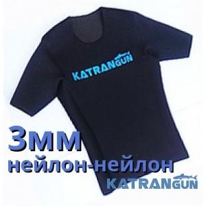 Футболки для плавания KatranGun, 3мм, нейлон/нейлон