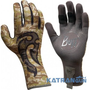 Водные перчатки c креативным дизайном BUFF Pro Series MSX Gloves bs mahori hook