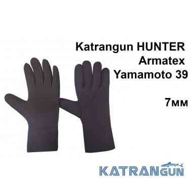 Перчатки с усилениями Katrangun Hunter Armatex Yamamoto 39; 7 мм