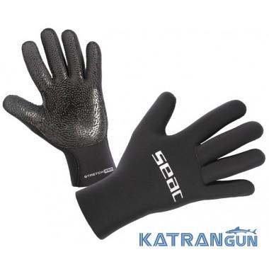 Неопреновие рукавички для підводного полювання Seac Sub Stretch 5 мм