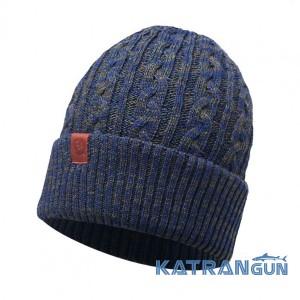 Зимняя шапка на каждый день Buff Knitted Hat Braidy moss 24c908d90357