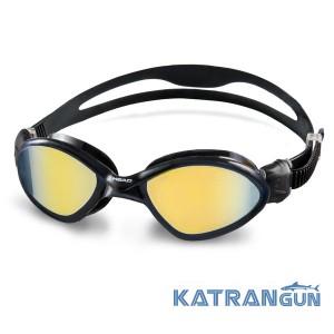Очки для соревнований по плаванию Head Tiger MID; зеркальное покрытие