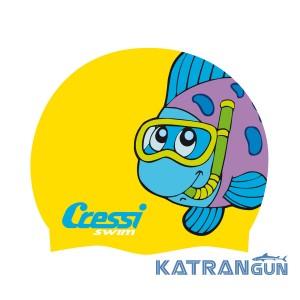 Детская шапочка для бассейна Cressi CAP JR
