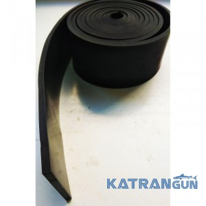 Латексна стрічка BS DIVER 4х50х2080мм, чорна