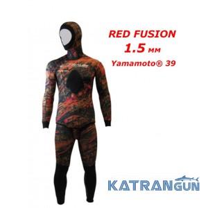 Гідрокостюм для теплої води Epsealon Red Fusion 1.5 мм