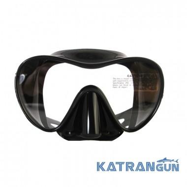 Хорошая маска для подводного плавания Marlin Frameless Duo