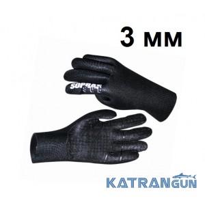 Перчатки Sopras Sub Gloves 3 мм; суперстрейч