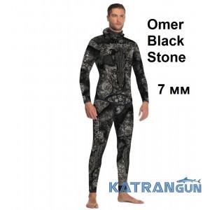 Гидрокостюм для охоты Omer Black Stone 7 мм