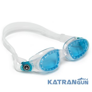 Очки для плавания Aqua Sphere Mako; линзы синие