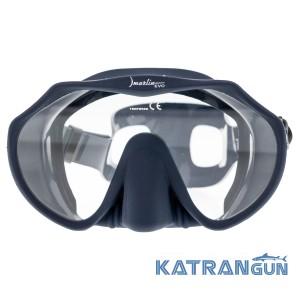 Универсальная маска для подводного плавания Marlin Frameless Evo Black