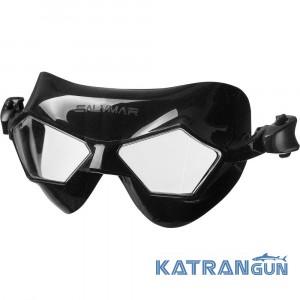Окуляри-маска для басейну Salvimar Jeko (чорний силікон)