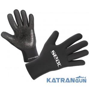 Неопреновые перчатки для подводной охоты Seac Sub Stretch 5 мм