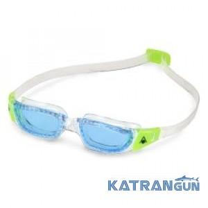 Очки для бассейна детские Aqua Sphere Kameleon Jr; линзы синие
