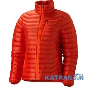 Куртка пуховая женская Marmot Women's Quasar Jacket, Coral Sunset