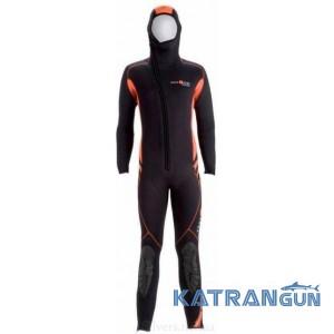 Жіночий гідрокостюм для дайвінгу AquaLung Sharm Safaga 6 мм