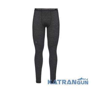 Мужские штаны поддева Black Diamond M Solution 150 Merino Baselayer Bottoms