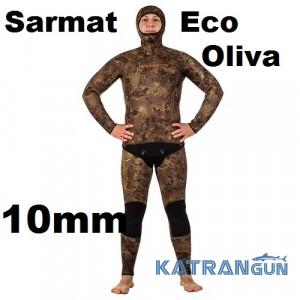 Гидрокостюм Marlin Sarmat Eco Oliva 10 мм